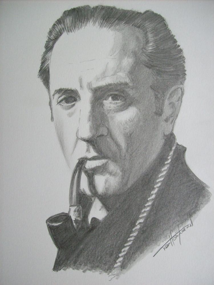 Basil Rathbone por Tom-Heyburn